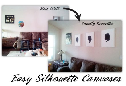 Silhouette Canvases Photo